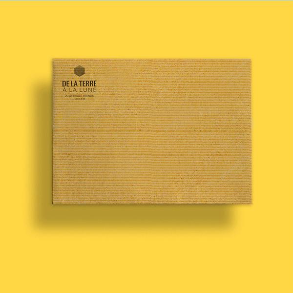 Pochettes B5 176 x 250 mm en kraft brun ou adour ou ofset blanc très pratique format A4 ou A5
