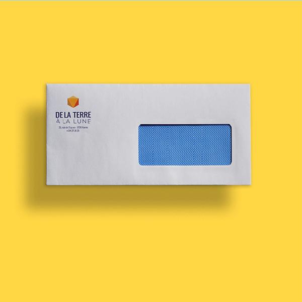 Enveloppes C6/C5 mécanisables de qualité superbes avec ou sans fenêtre à personnaliser
